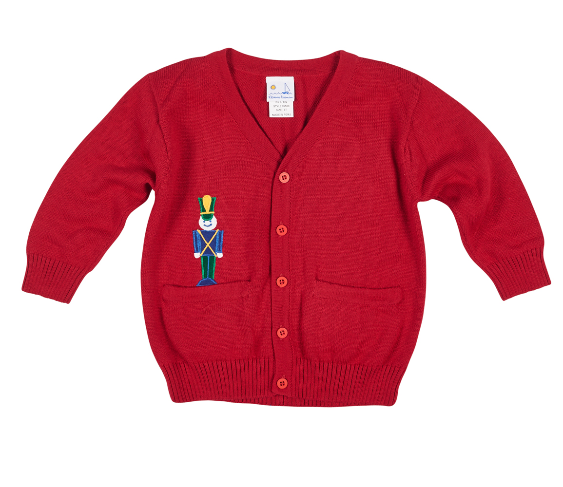 263f2a6c0 Boys Red Cardigan Sweater