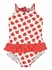 Florence Eiseman Baby / Toddler Girls Red Strawberries Print Ruffle One Piece Swimsuit