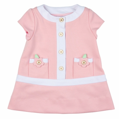 Florence Eiseman Girls Coco Chanel Style Pink White
