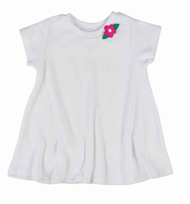 Florence Eiseman Infant / Toddler Girls White Terry Pull Over Cover Up