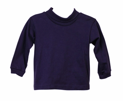 Funtasia Baby / Toddler Boys / Girls Turtleneck Shirt - Navy Blue