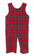 Funtasia Baby / Toddler Boys Red Christmas Holiday Plaid Longall