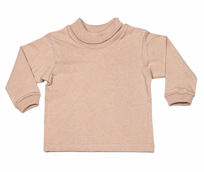 Funtasia Boys / Girls Turtleneck Shirt - Tan