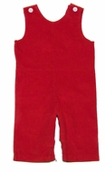 Funtasia Color Works Baby / Toddler Boys Corduroy Longall - Christmas Red