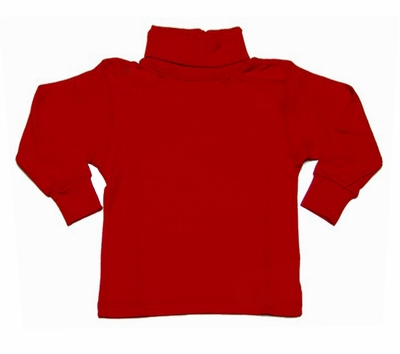 Funtasia Too Baby / Toddler Boys / Girls Cotton Turtleneck Shirt - Red