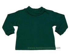 Funtasia Too Boys / Girls Turtleneck Shirt - Hunter Green