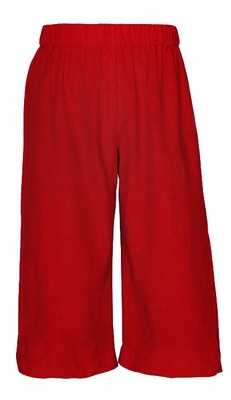 Funtasia Too Color Works Boys Pull On Pants - Corduroy - Christmas Red