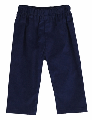 Funtasia Color Works Boys Pull On Pants - Corduroy - Navy Blue