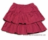 Glorimont Girls Red / White Dots Tiered Skirt