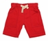 Gnu Brand Toddler Boys Pull On Cargo Shorts - Fiery Red