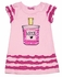 Haven Girl Pink Ruffled Love Potion Perfume Tunic with Ruffles