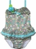Isobella & Chole Ciao Bella Girls Koi Gray Ruffled Two Piece Tankini Bathing Suit
