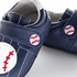 Jack & Lily Baby / Toddler Boys Shoes - Navy Blue Leather Tommy Baseball Shoes