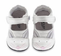 Jack & Lily Baby / Toddler Girls Shoes - Sara Easter Bunny - White