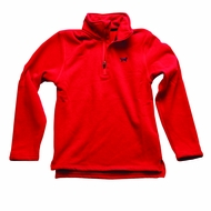 Jack Thomas Boys Christmas Red 1/4 Zip Fleece Sweater
