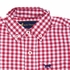 Jack Thomas Boys Gingham Button Down Dress Shirt - Nantucket Red