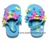 Kate Mack Baby / Toddler Girls Hula Flowers Blue / Pink / Yellow Pool Shoes