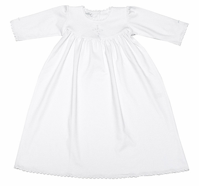 Kissy Kissy Hope\'s Cross White Day Gown for Baby Girl