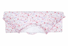 Kissy Kissy Baby Girls Pink Fall Blossoms Floral Receiving Blanket