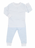 Kissy Kissy Baby / Toddler Delectable Dots Pajamas - Blue