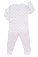 Kissy Kissy Girls Delectable Dots Pajamas - Pink