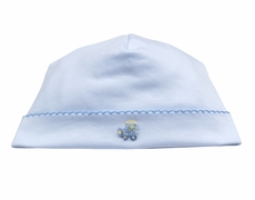 Kissy Kissy Infant Boys Blue ABC Cargo Train Hat