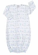 Kissy Kissy Infant Boys Nature's Nursery Converter Gown - Blue