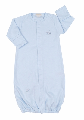 Kissy Kissy Infant Boys Sleeping Lamb Convertible Gown