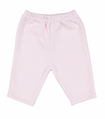 Kissy Kissy Infant Girls Dreamy Jacquard Pants - Pink