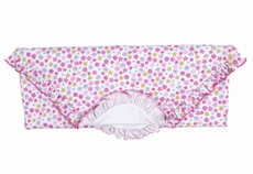 Kissy Kissy Infant Girls Pink Parisian Summer Floral Receiving Blanket