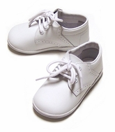 L'Amour Angel Baby / Toddler Boys James Leather Dress Oxfords Shoes - White