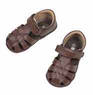 L'Amour Angel Baby / Toddler Fisherman Sandals - Brown