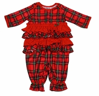 Laura Dare / New ICM Infant / Toddler Girls Red Christmas Holiday ...