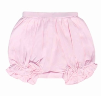Lemon Loves Lime Layette Baby Girls Bella Bloomers - Rose Shadow Pink