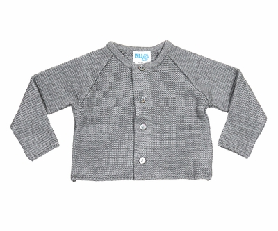 9b785f408 Luli   Me Baby   Toddler Boys or Girls Cardigan Sweater - Grey