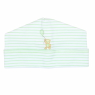 Magnolia Baby Beary Sweet Emboidered Hat - Celery Green