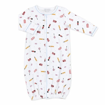 Magnolia Baby London Calling Printed Converter Gown