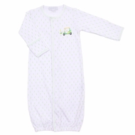 Magnolia Baby Boys / Girls Tee Time Golf Cart Converter Gown - Master's Green