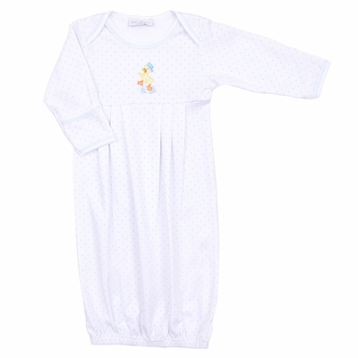 Magnolia Baby Duck Vintage Puddleduck Embroidered Gown