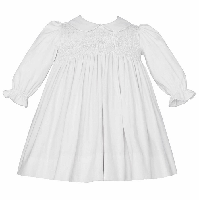 Petit Bebe By Anavini Infant Toddler Girls Winter White Fine