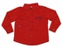 Prodoh Fishing Shirts for Kids - Sun Protective Shirt - Fish Logo - Red