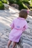 Prodoh Fishing Shirts for Kids - Girls Belted Gingham Dress - Pink