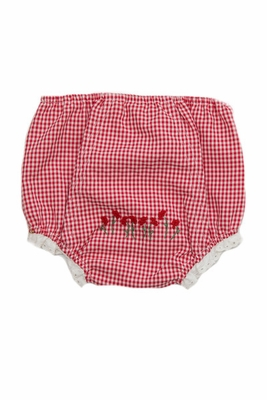 Proper Peony Baby / Toddler Girls Diaper Cover Bloomers - Red Gingham