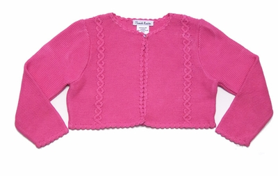 Sarah Louise Cerise Hot Pink Sweater Bolero
