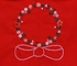 Sophie & Lucas Infant / Toddler Girls Red Corduroy Embroidered Christmas Wreath Dress - Infant Sizes Include Bloomers