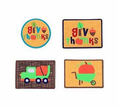 Switch-a-Roo Patches - Everyday to Holiday and Back Again - Add to Switch- a-Roo Outfits! - Harvest Themes