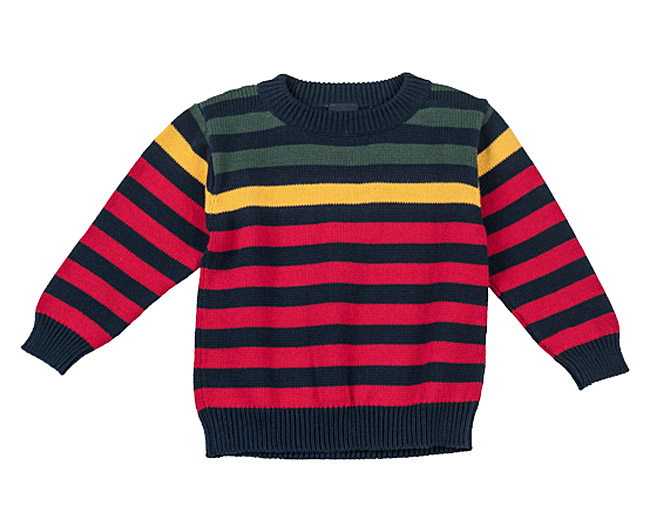 TF Laurence by Eiseman Striped Sweater for Boys