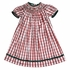 Vive La Fete Girls White Amp Red Christmas Plaid Smocked
