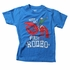 Wes & Willy Boys Blue / Red Lobster Rodeo Shirt