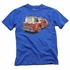 Wes & Willy Boys Blue Tee Shirt - Red Fire Engine